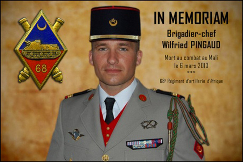 Biographie du brigadier-chef Wilfried Pingaud - Fédération Nationale de l'Artillerie
